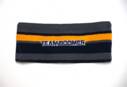 Team Boomer Knit Embroidered Headband