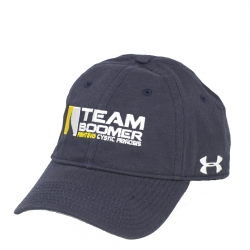 Team Boomer Navy UA Fitted Hat