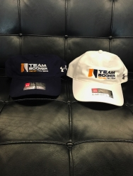 *New* White Team Boomer Adjustable Hat