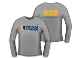 Women's Team Boomer Grey Long Sleeve